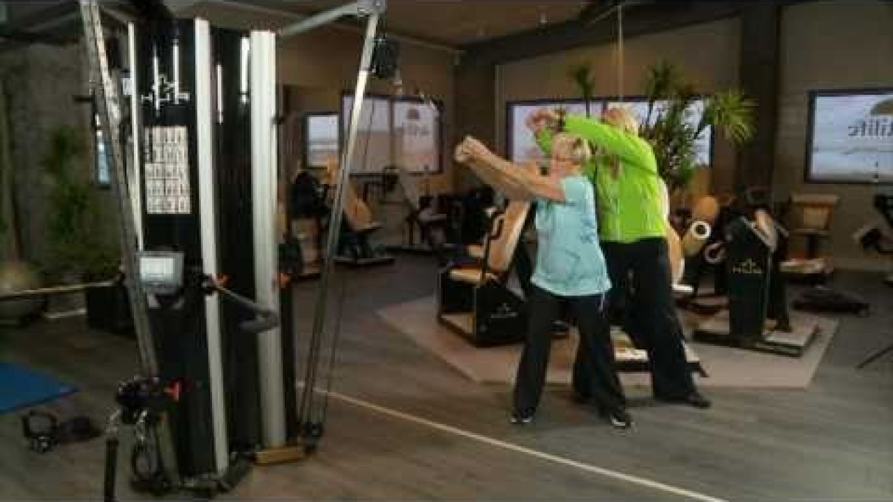 Физические силовые тренировки в пожилом возрасте